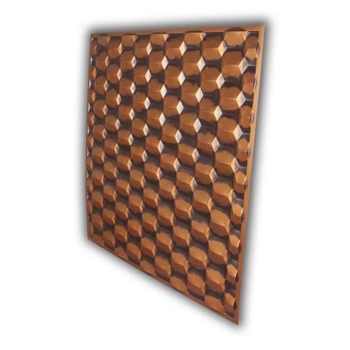 264 Faux Tin Ceiling Tile - Antique Copper