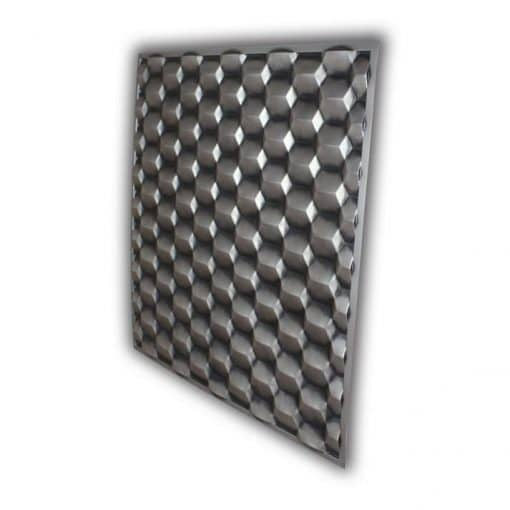 264 Faux Tin Ceiling Tile - Antique Silver