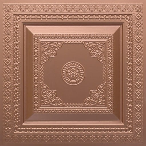 282 Faux Tin Ceiling Tile - Copper