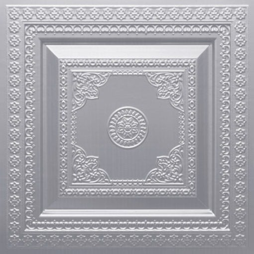 282 Faux Tin Ceiling Tile - Silver