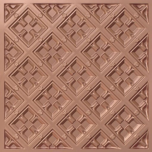279 Faux Tin Ceiling Tile - Copper