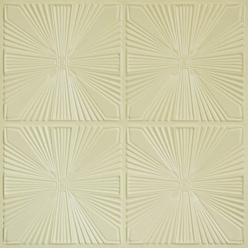 242 Faux Tin Ceiling Tile - Cream Pearl