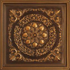 247 Faux Tin Ceiling Tile - Antique Gold