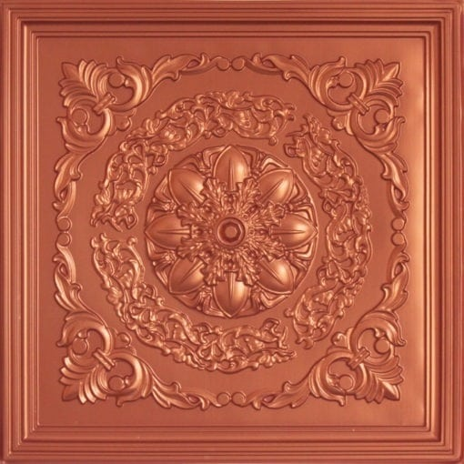 247 Faux Tin Ceiling Tile - Copper