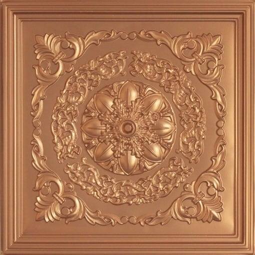 247 Faux Tin Ceiling Tile - Gold