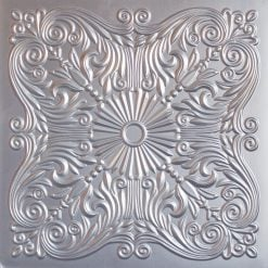 252  Faux Tin Ceiling Tile - Silver