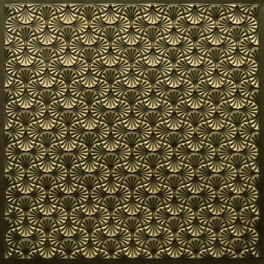 262 Faux Tin Ceiling Tile Antique Br