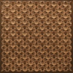 262 Faux Tin Ceiling Tile - Antique Gold