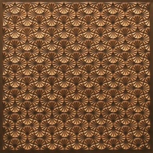 262 Faux Tin Ceiling Tile - Antique Gold