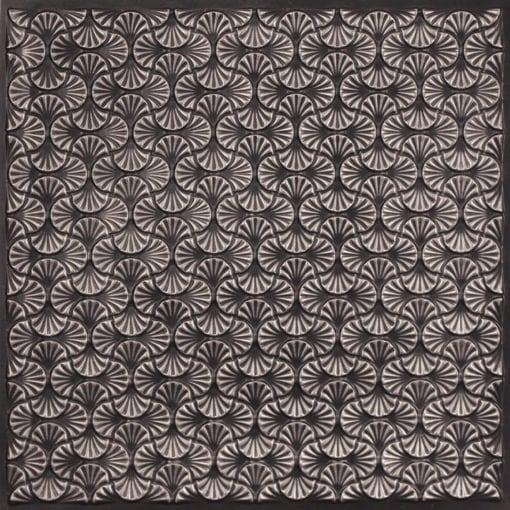 262 Faux Tin Ceiling Tile - Antique Silver