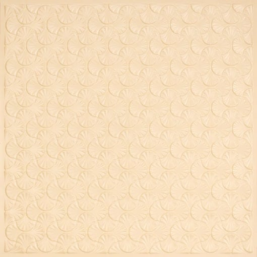 262 Faux Tin Ceiling Tile - Cream Pearl