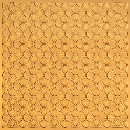 262 Faux Tin Ceiling Tile - Gold