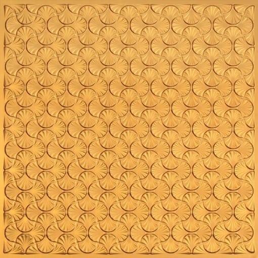 262 Faux Tin Ceiling Tile - Gold