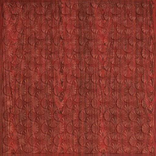262 Faux Tin Ceiling Tile - Rosewood
