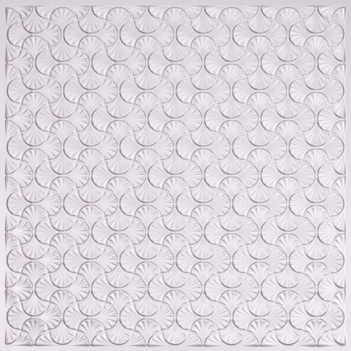 262 Faux Tin Ceiling Tile - Silver