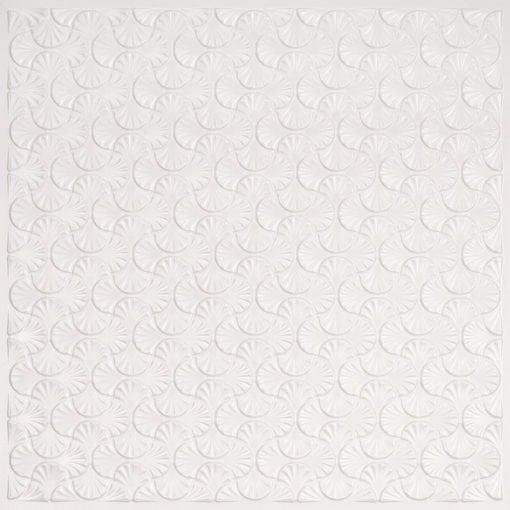 262 Faux Tin Ceiling Tile - White Pearl