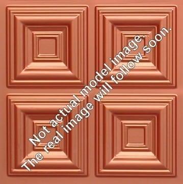 262 Faux Tin Ceiling Tile - Copper