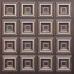 270 Faux Tin Ceiling Tile - Antique Silver