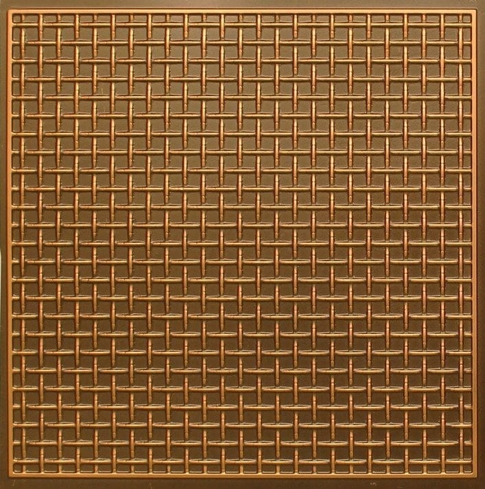271 Faux Tin Ceiling Tile - Antique Gold