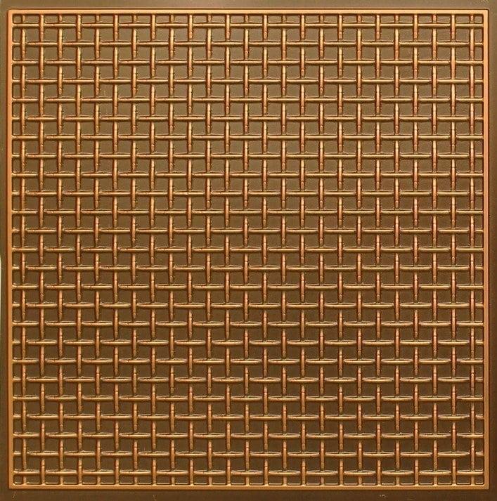 271 Faux Tin Ceiling Tile - Antique Gold