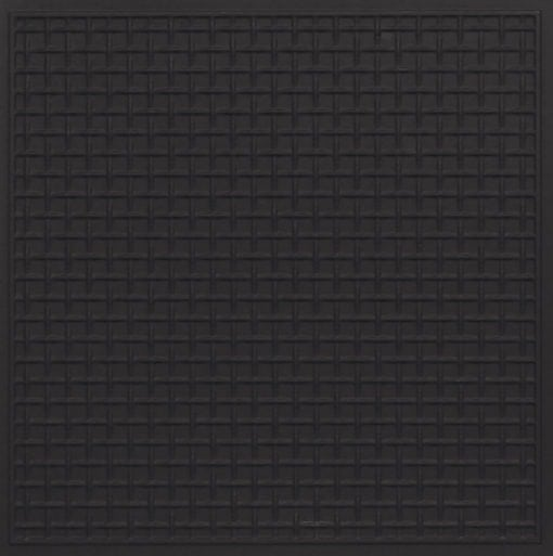 271 Faux Tin Ceiling Tile - Black Matte