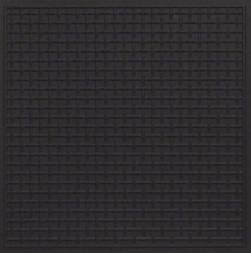 271 Faux Tin Ceiling Tile - Black Matte