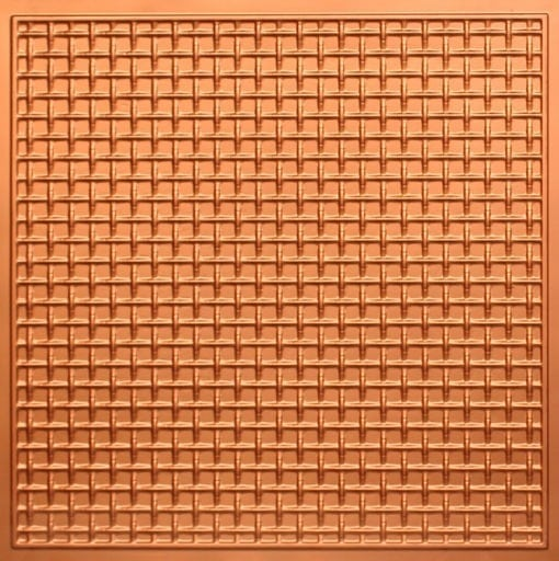 271 Faux Tin Ceiling Tile - Copper