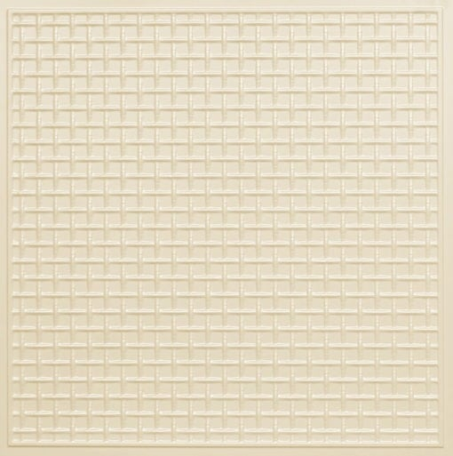 271 Faux Tin Ceiling Tile - Cream Pearl