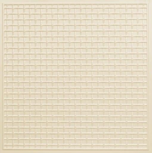 271 Faux Tin Ceiling Tile - Cream Pearl
