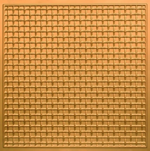 271 Faux Tin Ceiling Tile - Gold