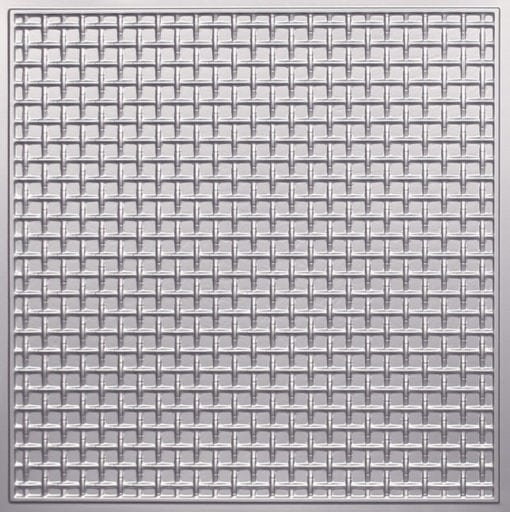 271 Faux Tin Ceiling Tile - Silver