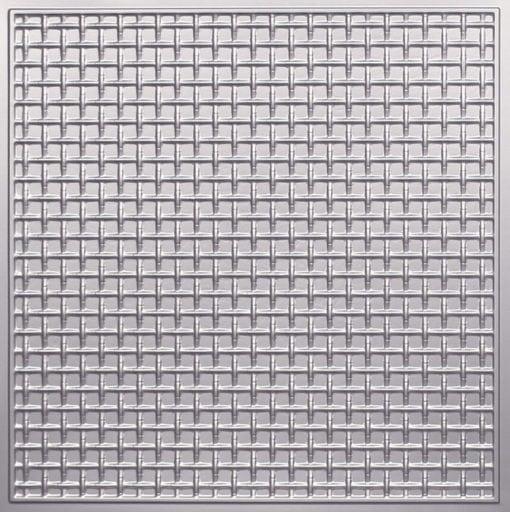 271 Faux Tin Ceiling Tile - Silver