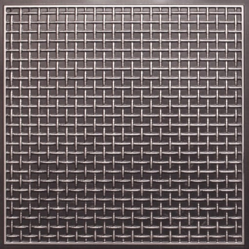 271 Faux Tin Ceiling Tile - Antique Silver