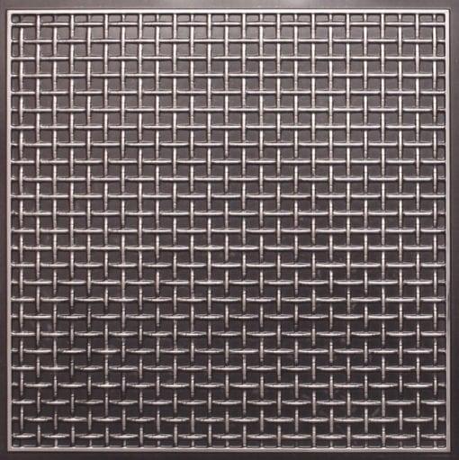 271 Faux Tin Ceiling Tile - Antique Silver