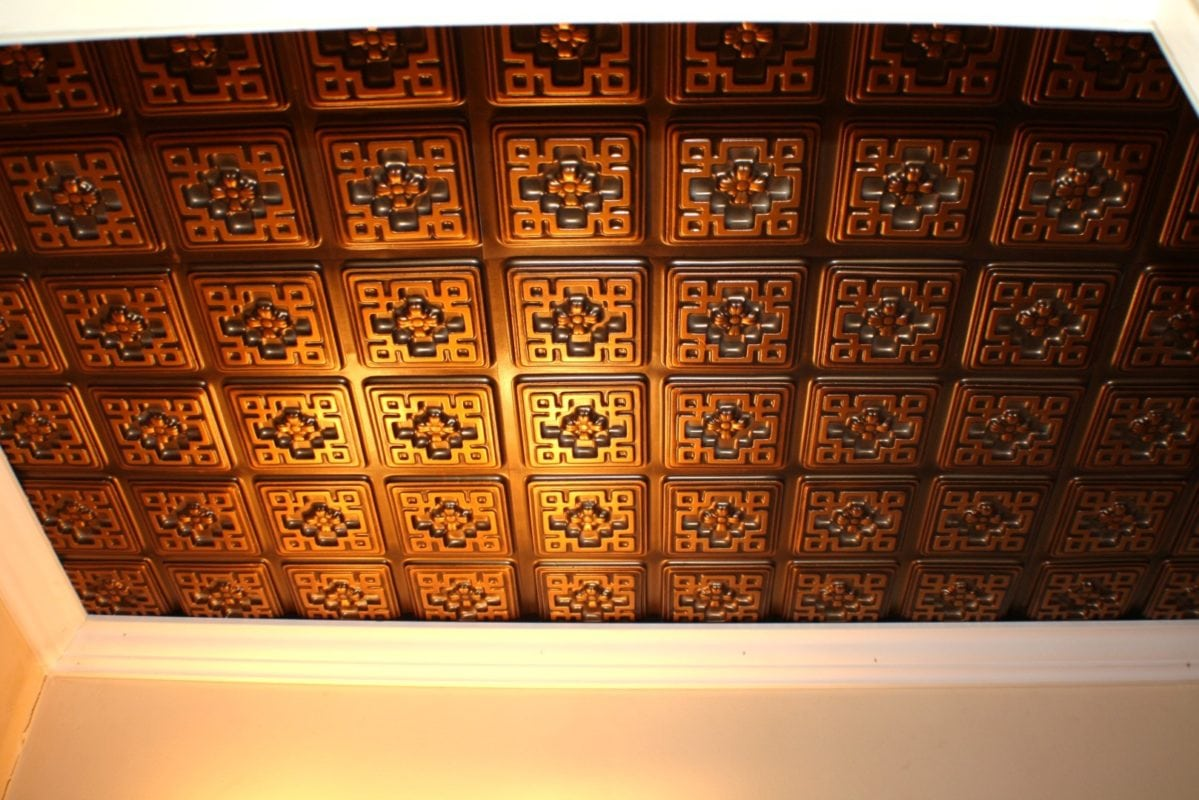 103 Faux Tin Ceiling Tile 3