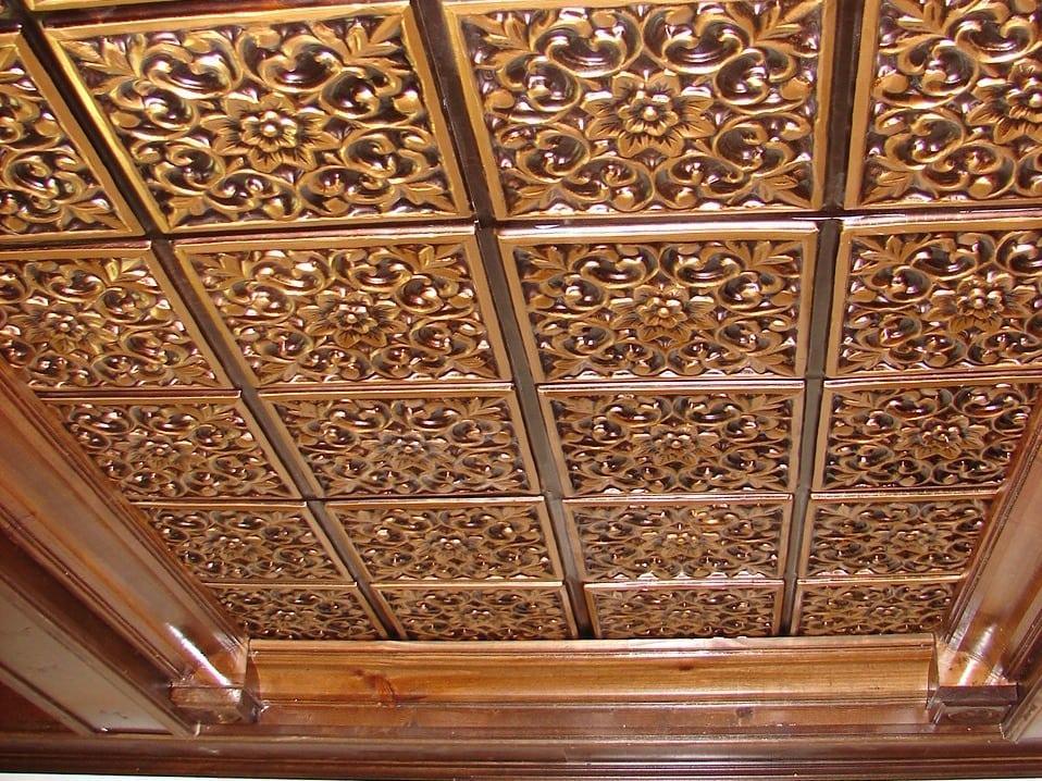109 Faux Tin Ceiling Tile