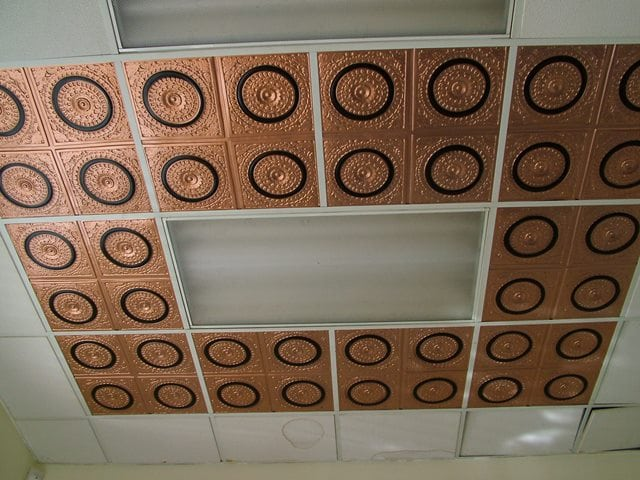 117 Faux Tin Ceiling Tile 3