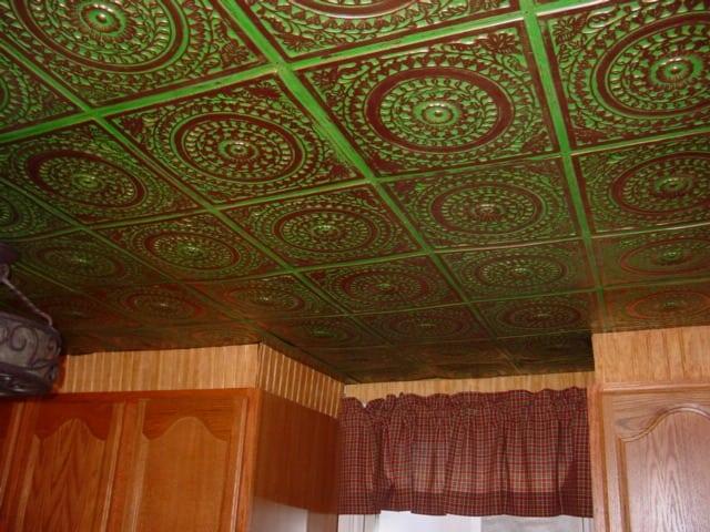 117 Faux Tin Ceiling Tile