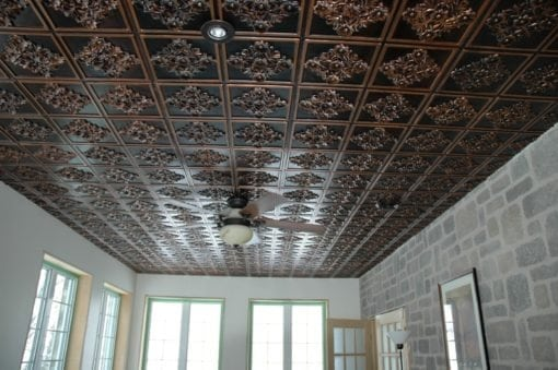 129 Faux Tin Ceiling Tile