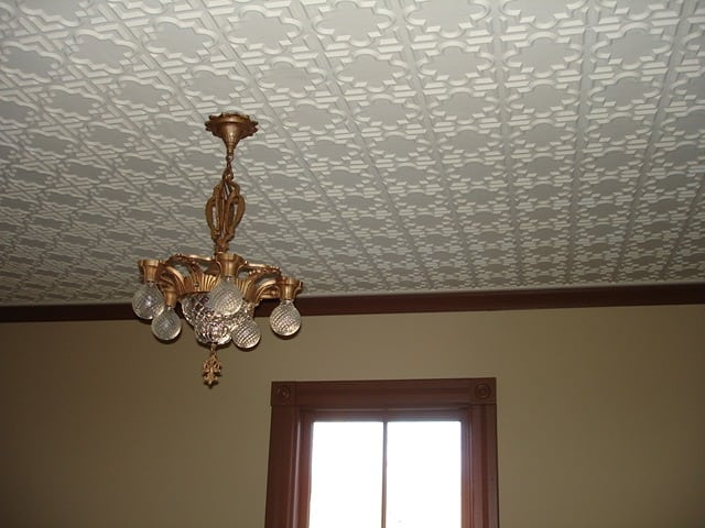 142 Faux Tin Ceiling Tile