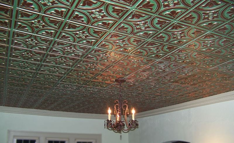 148 Faux Tin Ceiling Tile