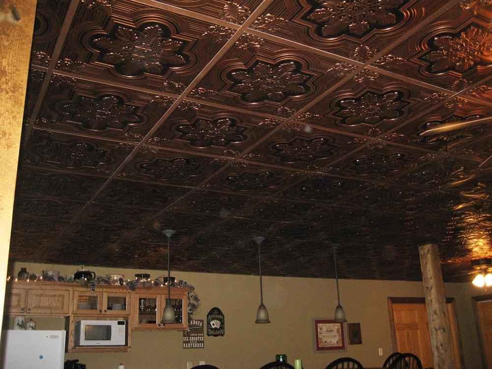 206 Faux Tin Ceiling Tile