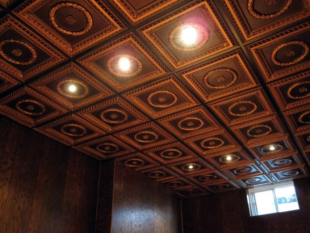 210 Faux Tin Ceiling Tile