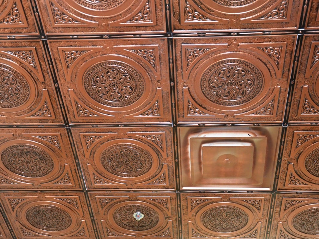225 Faux Tin Ceiling Tile