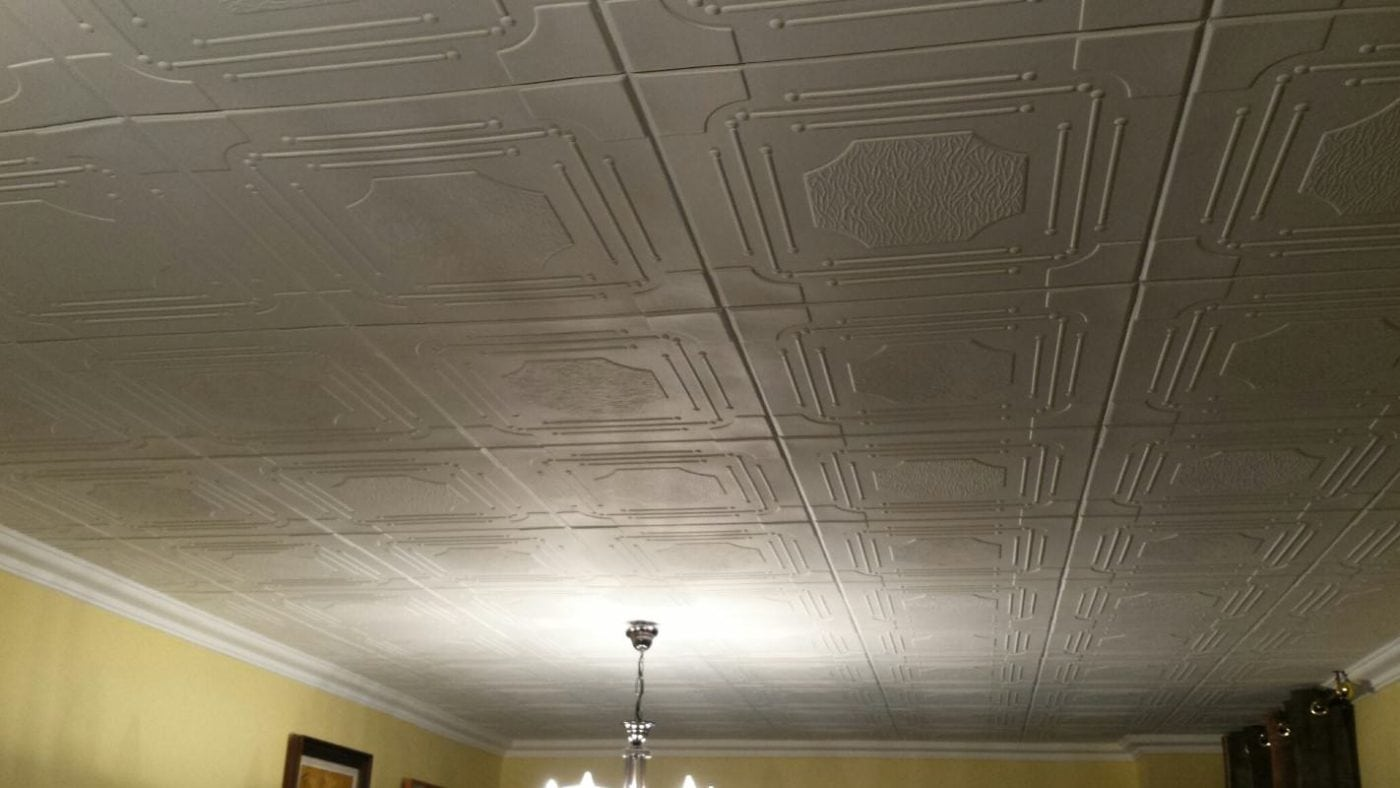 RM46 Polystyrene ceiling tile