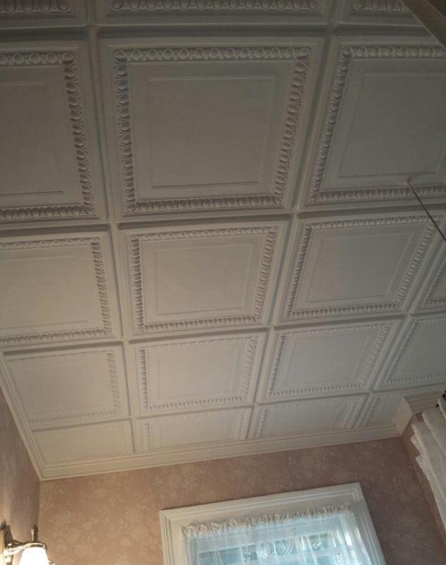TD06 Faux Tin Ceiling Tile