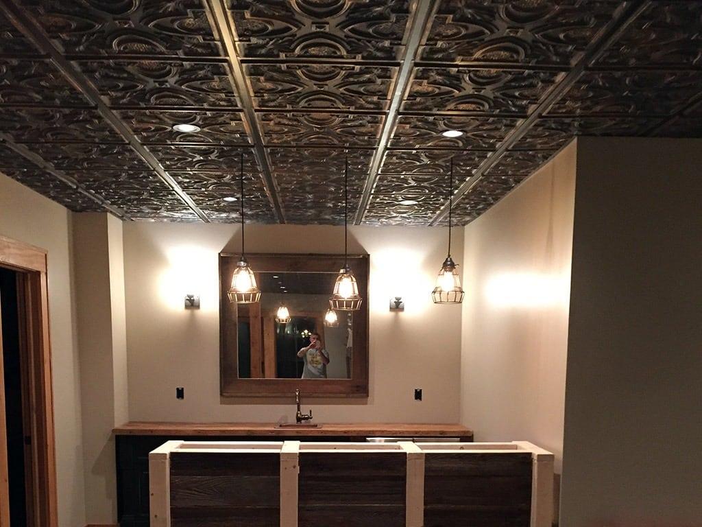 TD11 Faux Tin Ceiling Tile 3
