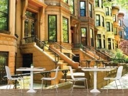 1644R_Famous Brownstone Row Houses in Brooklyn, New-York