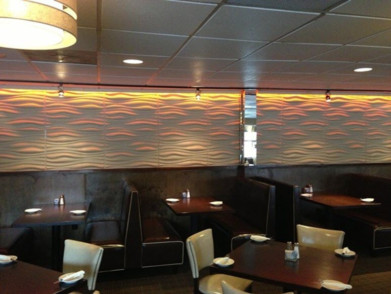 Restaurant-wall-panels-and-wall-murals