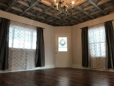Faux Tin Ceiling Tiles Coffered